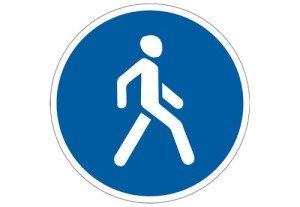 Фото - какой знак обозначает пешеходную дорожку, yarnovosti.com