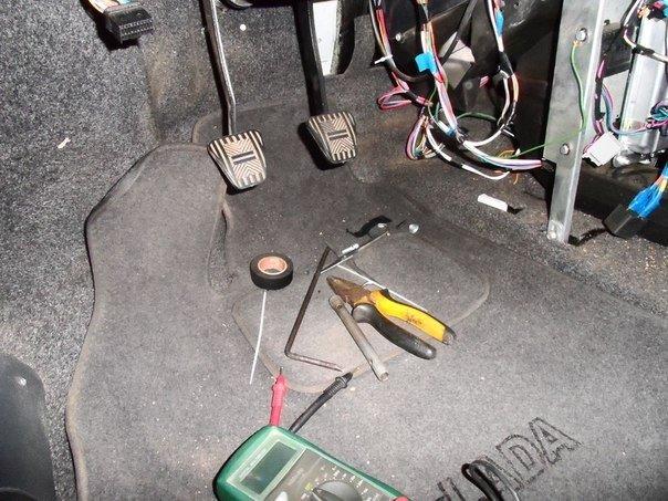 электронная педаль газа мерседес w211 симптомы