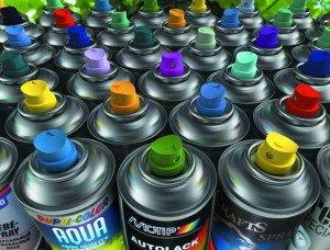 Фото аэрозольных красок для автомобилей, elektroas.ru