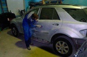 Фото подготовки авто к покраске, krasivoe-avto.com