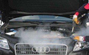 Фото мойки двигателя паром, avtopar-kiev.at.ua