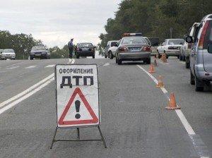 На фото - фиксирование ДТП сотрудниками милиции, taganrogtv.ru
