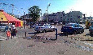 Фото остановки транспортного средства, alt-gazeta.ru
