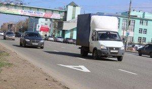 Фото движения по полосе общественного транспорта, izhlife.ru
