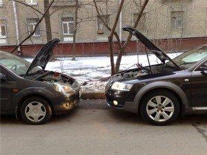 Фото прикуривания аккумулятора, battery-industry.ru