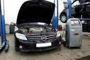 Фото диагностики автомобильного кондиционера, cras-center.spb.ru