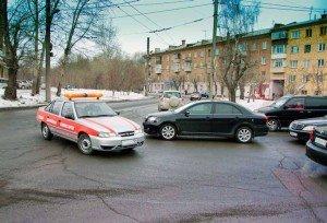 Фото проезда нерегулируемого перекрестка, ngs24.ru