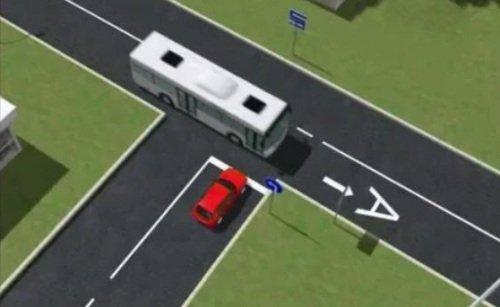 Правила проезда т образного перекрёстков в картинках