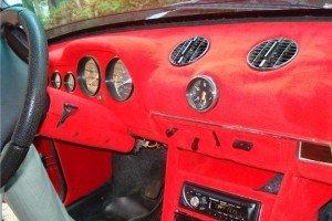 Фото флокирования салона авто, autodrop.ru