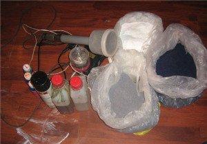 Фото инструментов для флокирования салона, лада2111.рф