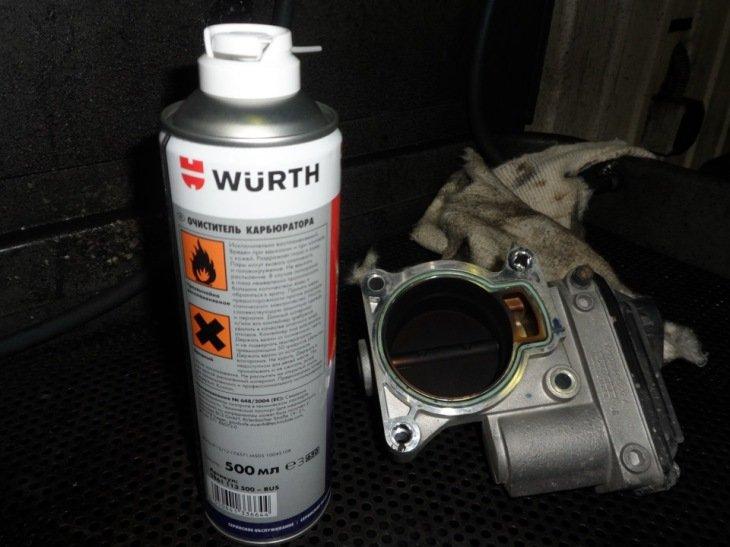 Фото №18 - чистка дроссельной заслонки заслонки ВАЗ 2110