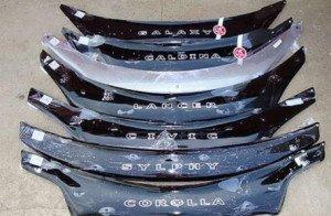 Фото дефлекторов для разных марок авто, autoevrika174.ru