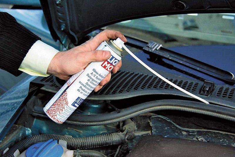 Как почистить кондиционер авто