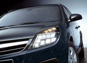Фото светодиодной фары дальнего света, autooboz.info