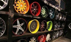 Фото покрашенных литых дисков порошковой краской, pokraskainfo.com