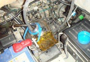 Фото чистки двигателя соляркой, korandovod.ru