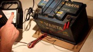 Фото подключения устройства для зарядки АКБ, avtobazar.infocar.ua