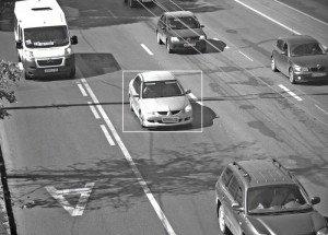 На фото - фиксация машины камерой видеонаблюдения, mapcam.info