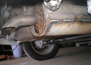 Фото ремонта выхлопной системы автомобиля, forumchik.net