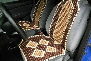 Фото бамбуковых массажных накидок на сиденья автомобиля, avtowithyou.ru