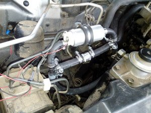 Фото центробежного электрического топливного насоса, drive2.ru