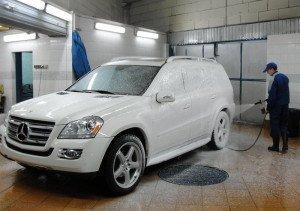 Фото бесконтактной мойки автомобиля, stroginoauto.ru