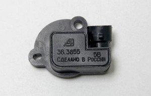 Фото датчика положения дроссельной заслонки ВАЗ 2110, 2114.ru
