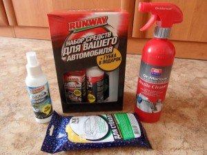 На фото - набор для химчистки салона своими руками, avtopub.com