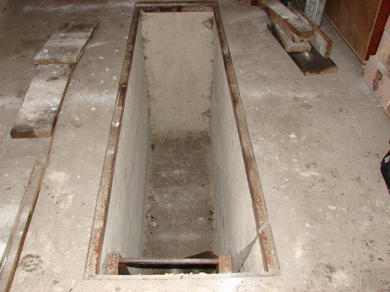 Открываем участок Как сделать яму для сход