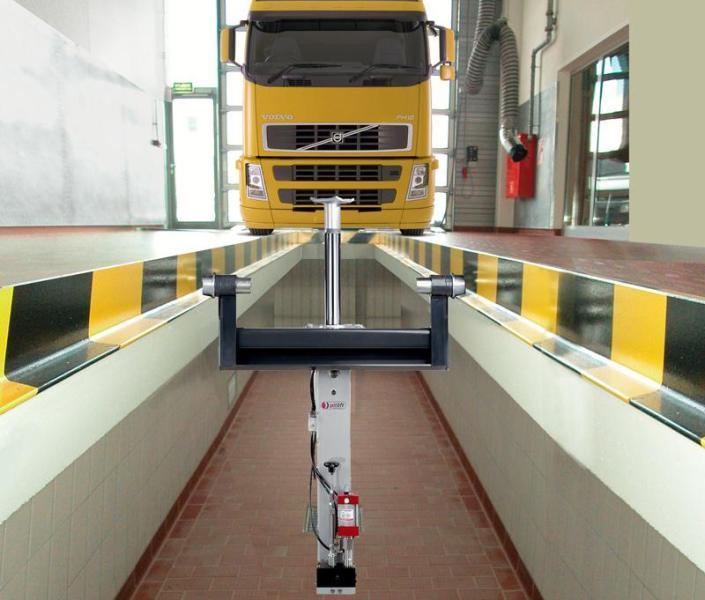 Смотровая яма для грузовиков