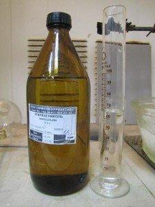 На фото - этиленгликоль, chemistry-chemists.com