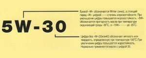 Фото расшифровки маркировки моторных масел по SAE, vybratauto.ru