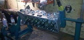 Самодельный стенд для ремонта двигателя