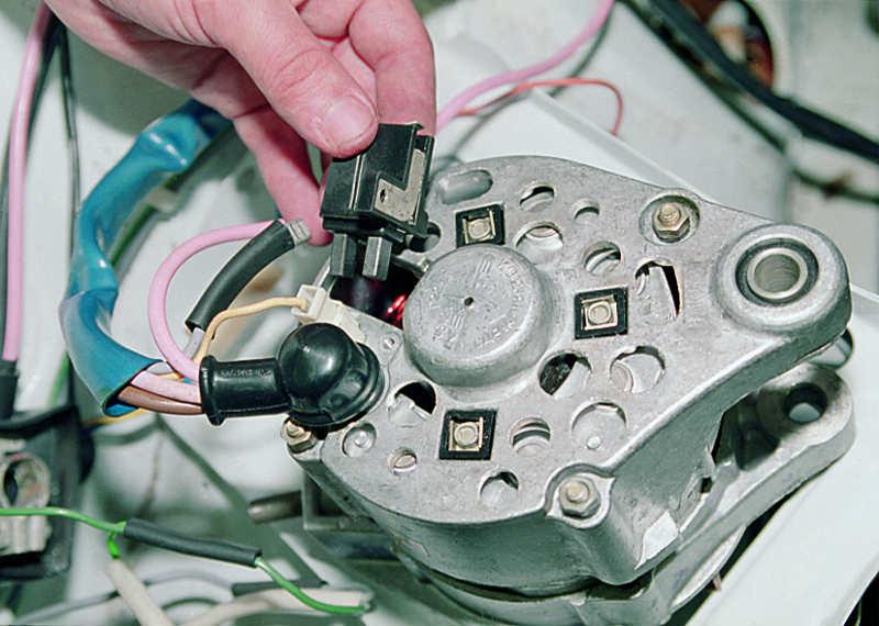 Ремонт генератора на ваз 2115 своими руками видео