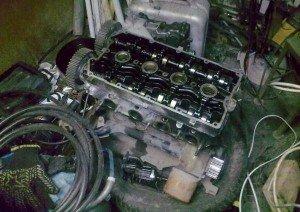 На фото - дизельный двигатель, autoshcool.ru
