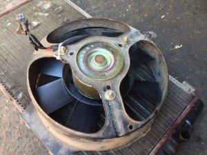 Фото демонтажа вентилятора охлаждения радиатора, forum.skoda-club.ru