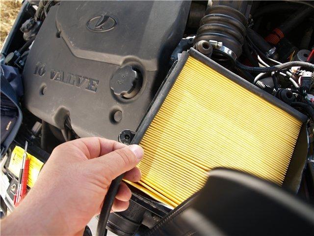 Фото №7 - воздушный фильтр на инжектор ВАЗ 2110