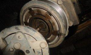 Фото снятия компрессора кондиционера авто, drive2.ru