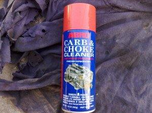 Фото аэрозольного средства для очистки карбюратора, forum.my2110.ru