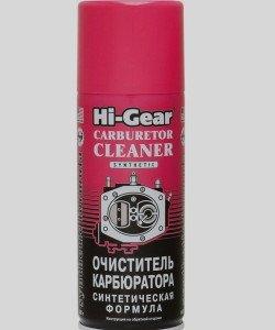 На фото - очиститель карбюратора марки Hi Gear, sportless.ru