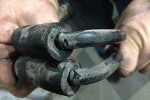 Фото замены резиновых тормозных шлангов, drive2.ru