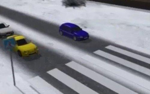 обгон перед знаком пешеходный переход