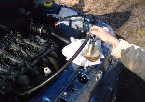 Фото чистки форсунок инжектора ВАЗ-2110, лада2111.