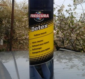 Фото чистящего средства Detex для салона авто, drive2.ru