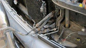 Фото трубопровода компрессора кондиционера автомобиля, jap4drive.ru