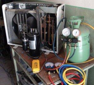 Фото ремонта автомобильного кондиционера, mc36.ru