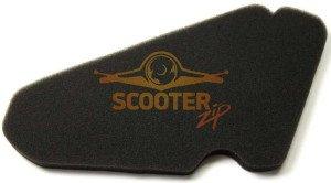 На фото - новый фильтрующий элемент скутера, scooter-zip.ru