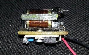 На фото - трансформатор для самодельного ионизатора воздуха авто, схема-авто.рф