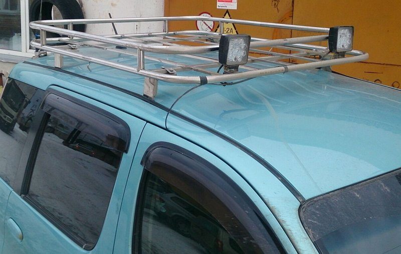 Багажник на крышу автомобиля 2111 своими руками 55