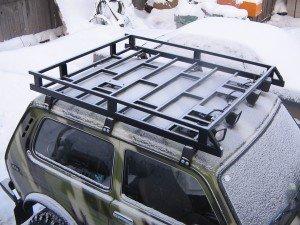 Фото багажника на крышу автомобиля ВАЗ, za-rulem.org